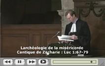pasteur en chaire à l'Oratoire du Louvre