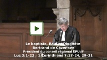 Bertrand de Cazenove le 7 décembre 2014