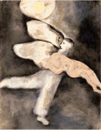 Chagall : Dieu crée l'homme