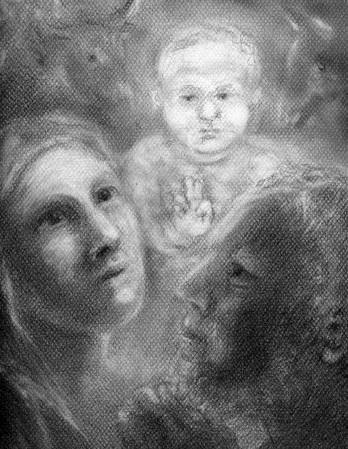 La Nativité, par Nicole Dupont