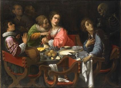 Giovanni Martinelli « Memento Mori », 1635