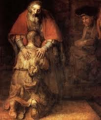 Rembrandt, le père et son fils prodigue