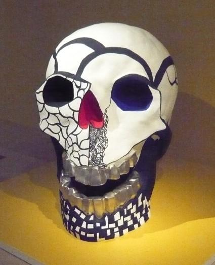 Niki de Saint-Phalle « Tête de mort II », 1988