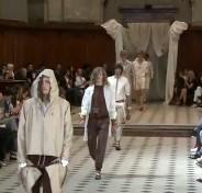 défilé Alexis Mabille mode homme printemps 2011 à l'Oratoire du Louvre
