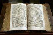La Bible dans l'Oratoire du Louvre