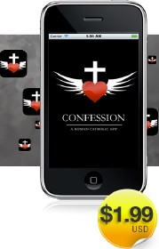 l'application confession sur iphone