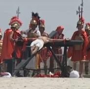 crucifixion aux Philippines