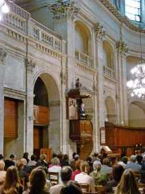 Culte à l'Oratoire du Louvre