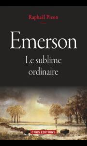 coucerture du livre de Picon sur Emerson
