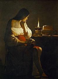 Georges de La Tour La Madeleine à la veilleuse