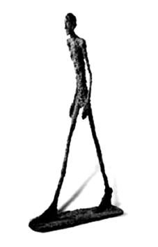 Giacometti : L'homme qui marche