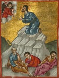 http://commons.wikimedia.org/wiki/File%3AIlyas_Basim_Khuri_Bazzi_Rahib_-_Jesus_Prays_in_Gethsemane_-_Walters_W59274A_-_Full_Page.jpg