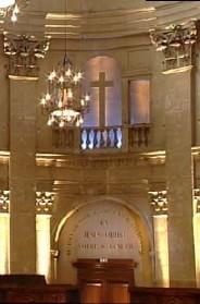 Le chœur de l'Oratoire du Louvre