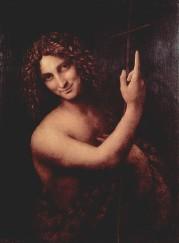 Jean-Baptiste selon Léonard de Vinci