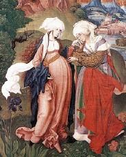 Marie enceinte rend visite à Elisabeth