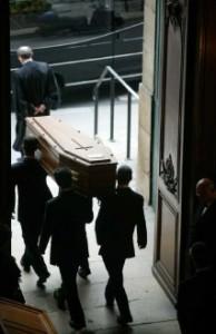Obsèques à l'Oratoire du Louvre © photo Godong