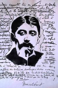 Pochoir au Musée Marcel Proust, à Illiers Combray
