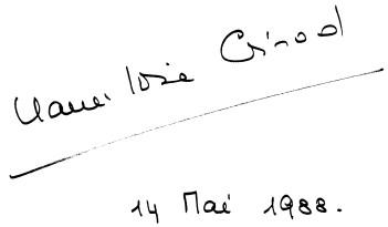signature de Marie-Louise Girod