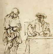 "Rembrandt ""la parabole des talents"""