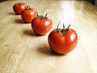 Image: 'Healthy Red Tomatoes are Wet and Organic'  http://www.flickr.com/photos/36495803@N05/8099419727 Found on flickrcc.net