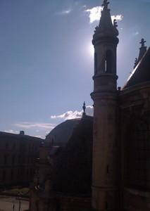 une tourelle de l'Oratoire du Louvre