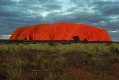 Image: 'Uluru at sunset'  http://www.flickr.com/photos/26693938@N08/3114503461