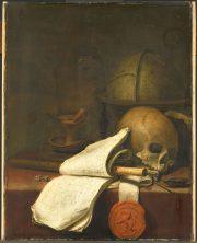 Pieter Symonsz Potter, Vanitas stilleven, 1646, Rijksmuseum